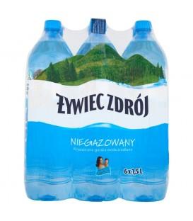 Żywiec Zdrój woda niegazowana 1,5L zgrzewka