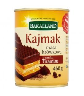Bakalland masa krówkowa o smaku tiramisu 460g