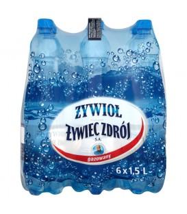 Żywiec Zdrój woda gazowana 1,5L zgrzewka