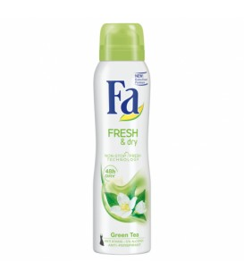 Fa Fresh&Dry Dezodorant w Sprayu Green Tea 150 ml