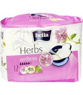 Bella herbs z werbeną podpaski higieniczne 12szt