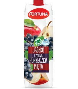 Fortuna Napój Jabłko-czar.porzeczka-mięta 1 l.
