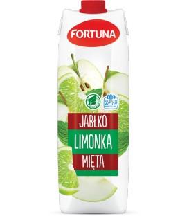 Fortuna Napój Jabłko-Limonka-Mięta 1l.