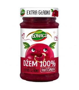 Łowicz Dżem Extra Gładki Wiśnia 235g.
