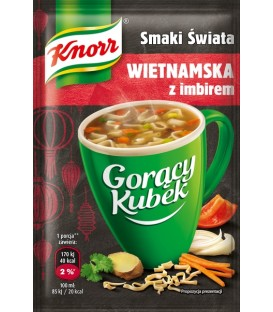 Knorr Gorący Kubek wietnamska z imbirem 11g