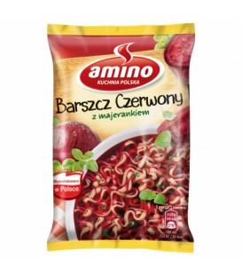 Amino Nudle Barszcz Czerwony 66g