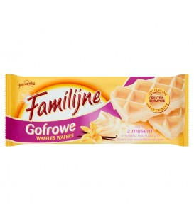 Jutrzenka Wafle Familijne Gofrowe Waniliowe 130g