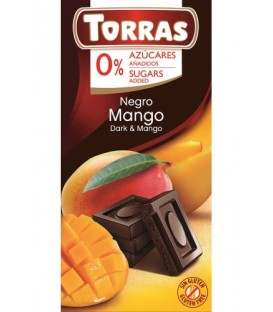 Torras czekolada gorzka z mango b/c 75g