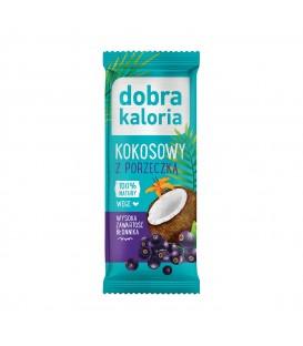 Kubara Baton Kokosowy z Czarna Porzeczką 30g