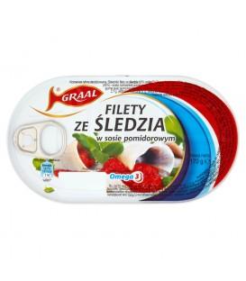 Graal Filety śledziowe w pomidorach 170g