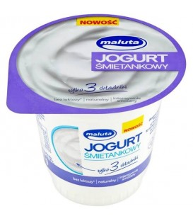 Maluta Jogurt Śmietankowy 220g