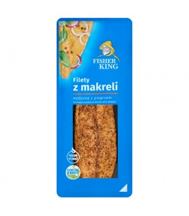 Fisherking Filet z makreli n/g z pieprzem 100g