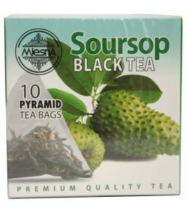 Mlesna herbata czarna Soursop 10 piramidek 20g