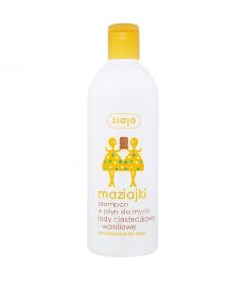 Ziaja maziajki szampon+płyn do mycia 400ml