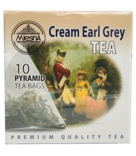 Mlesna herbata czarna Cream Earl Grey 10 piram.20g