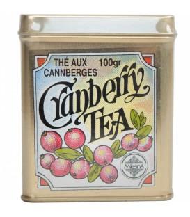 Mlesna herbata czarna liściasta Cranberry 100g