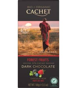 CA Czek.Bio/Org.Dark 57% Forest Fruits 100g