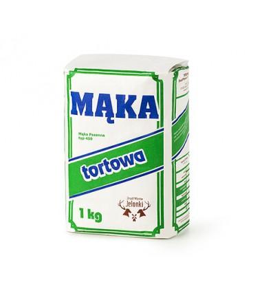 Mąka Tortowa 1kg Zespół Młynów Jelonki INTERCHEMAL
