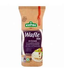 Kupiec wafle ryżowe z czarnuszką Slim 90g