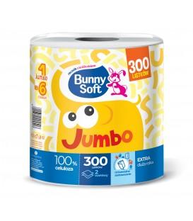 Ręcznik pap.1rolka 2w300lis. JUMBO Bunny