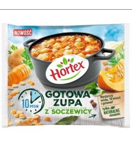 Hortex Zupa gotowa z soczewicą 350g