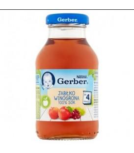 Gerber 100% Sok z Jabłek i Winogron 200ml