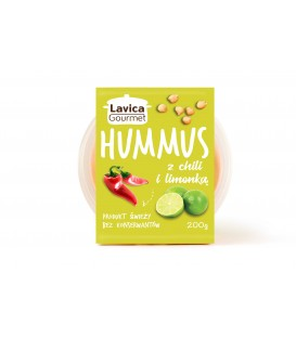 Pasta Hummus z Chilli 200g