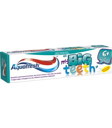 Aquafresh my Big Teeth 50ml