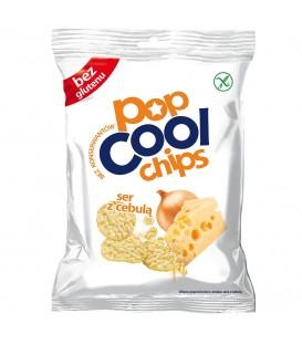 POPCOOL Chips ser z cebulą 60g.
