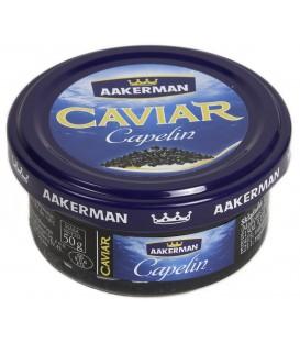 Aakerman Kawior Capelin czarny 50g