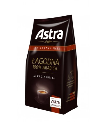 Kawa Astra Delikatny Smak Łagodna 250 g ziarnista