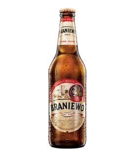 Piwo Braniewo butelka bezzwrotna 0,5l