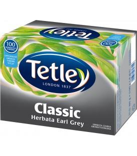 TETLEY CLASSIC EARL GREY 100 torebek