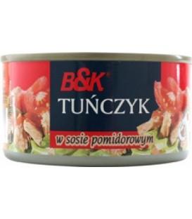 BkFood tuńczyk w pomidorach 185g