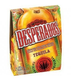 Desperados  piwo but 3x0,4L