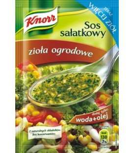 Knorr sos sałatkowy zioła ogrodowe 9g