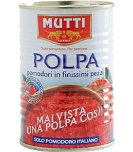 Mutti pomidory w kawałkach 400g