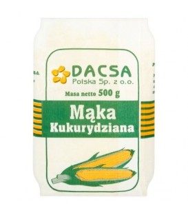 Dacsa Mąka kukurydziana 500 g
