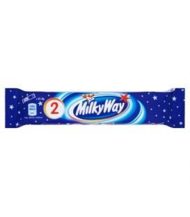 Milky Way Baton z białym nadzieniem oblany czekoladą 43 g (2 sztuki)