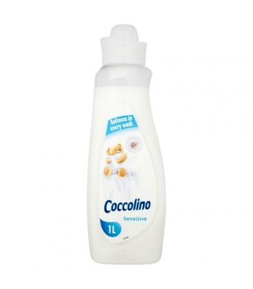 Coccolino Sensitive Płyn do płukania tkanin koncentrat 1 l
