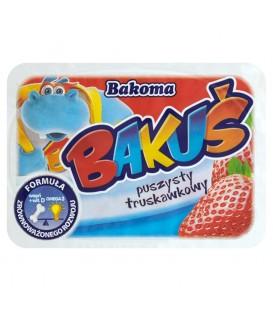 Bakoma Bakuś Puszysty truskawkowy Deserek 90 g