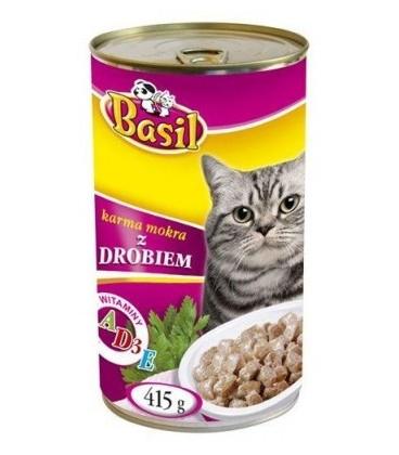 Basil karma mokra dla psa drób 415g