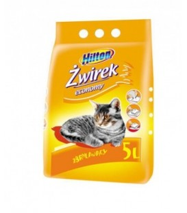 Hilton Żwirek dla kota economy 5L