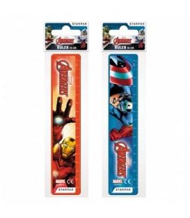 Disney Avengers linijka plastikowa 15cm